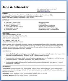 Computer Hardware Engineer Resume Format Resume Objective Examples Software Developer