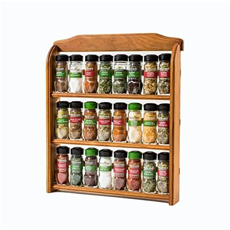 Mccormick Spice Rack Collection mccormick gourmet wood spice rack 24 assorted herbs spices picture 003 kitchen and dining