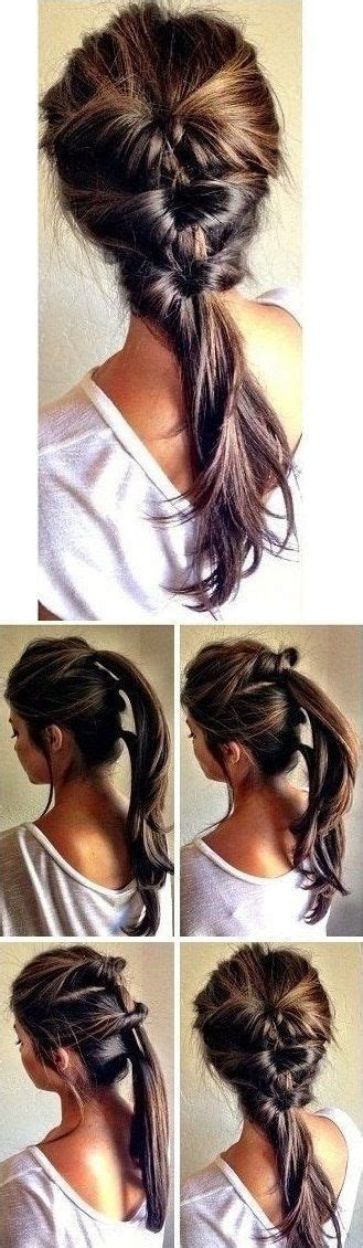 hiw ti wear a pony tail with hair extensions 17 best images about more than 14 kinds of plait on