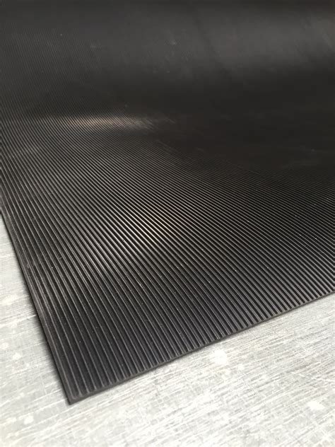 Matting Rubber Corrugated by Heavy Duty Corrugated Runner Matting All Rubber Musson