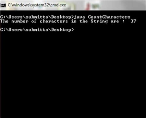 Character Letter Number Java Total Number Of Characters In The String With Exle Java Program Code Java Hungry