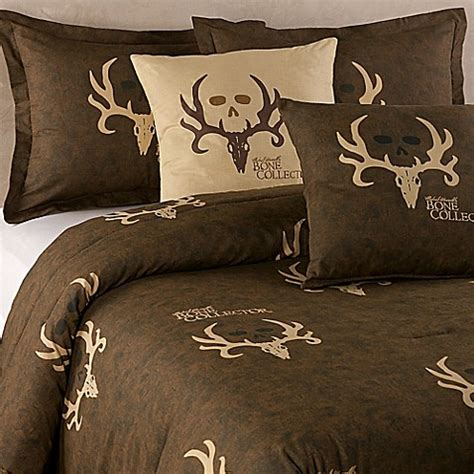 bone collector bedding buy bone collector by michael waddell king comforter set