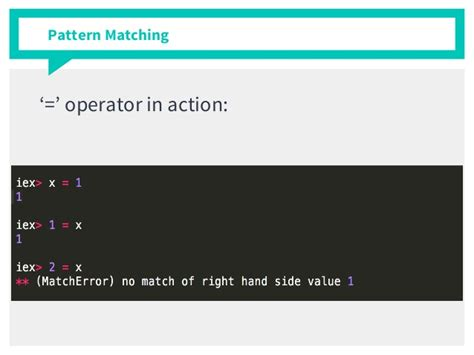 haskell pattern match variables learning elixir as a rubyist