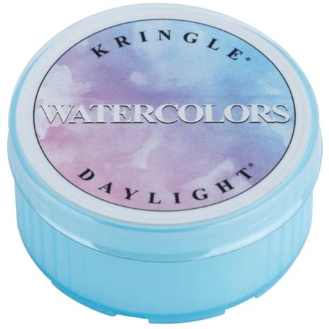candele scaldavivande kringle candle watercolors candela scaldavivande 35 g