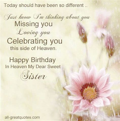 Missing Birthday Quotes 25 Best Ideas About Sister In Heaven On Pinterest