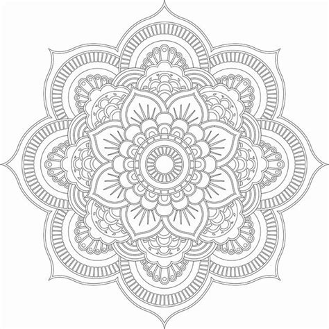Mandala Meditation Coloring Book Ideas Mandala Coloring