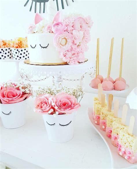 unicorn themed birthday party ideas sweet unicorn birthday party on kara s party ideas
