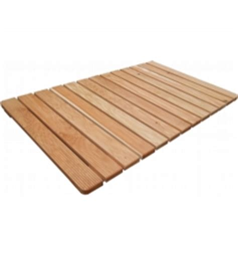 Shower Tray Wooden Footboard by Assembled Larch Wood Footboards Assembled