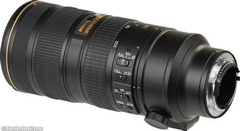 Lensa Nikon Afs 55 200mm Af S 55 200 Mm F4 56g Ed Dx Vr Ii nikon 70 200mm f 2 8 vr ii