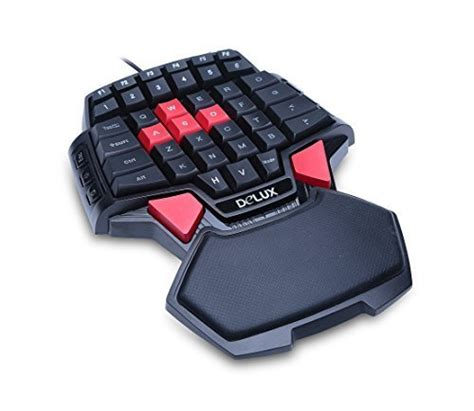 deebol 46 key wired professional singlehanded backlit gaming keyboard mini ga ebay