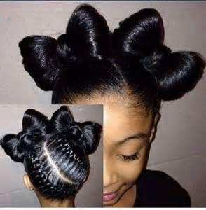 bow hair child bow hair style