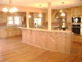 Pine Desk With Hutch Mattingly Kitchen Solid Knotty Alder Wood Island