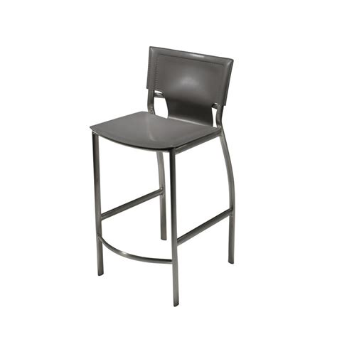 bar stools somerville ma sedona satin nickel frame bar counter stool in regenerated