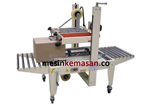 Lem Sealer Paking Mesin karton sealer 5050 series belt atas bawah amdk and packaging solutions
