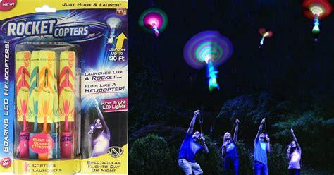 amazon rocket copters  amazing slingshot led