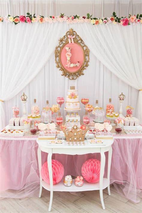 kara s party ideas pink amp gold princess birthday party via