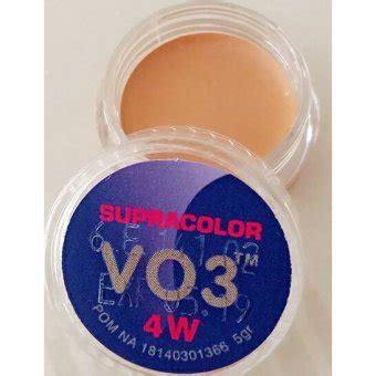 Kryolan Cake Make Up 4 W 40 Gr kryolan supracolor foundation 4w daftar harga terlengkap