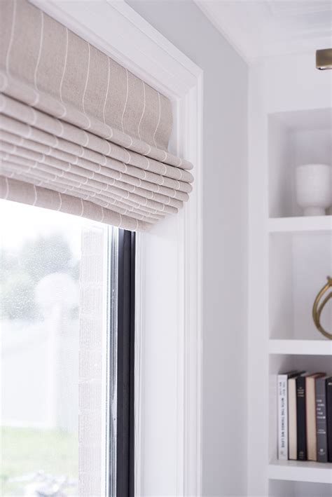 How We Choose Hardware Room For Tuesday with How We Choose Shades Room For Tuesday Pinstriped Shade Restoration Hardware