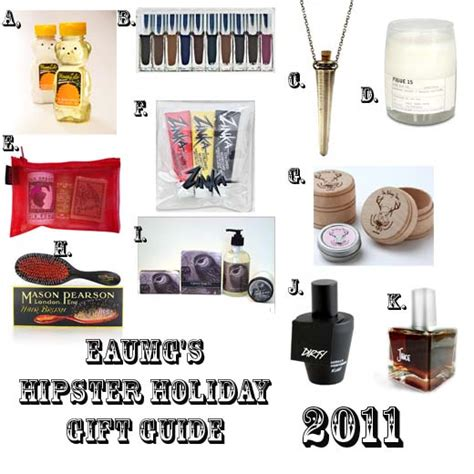 eaumg s 2011 holiday gift guide for the chic hipster eaumg