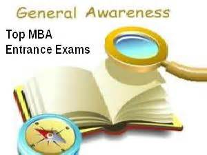 All Mba Entrance Exams List by Top Mba Exams Do Include General Awareness Section
