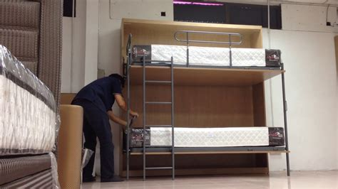 Folding Bunk Bed Doovi That Folds Into A Bunk Bed