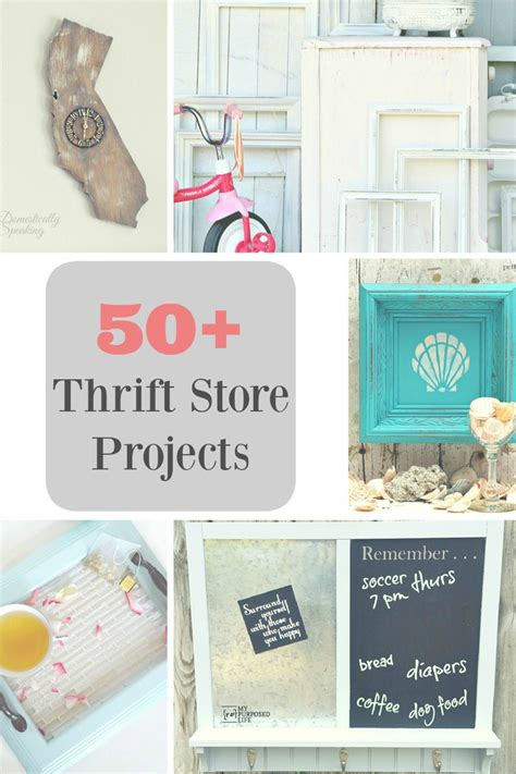 diy thrift store projects 50 plus thrift store projects my uncommon slice of suburbia
