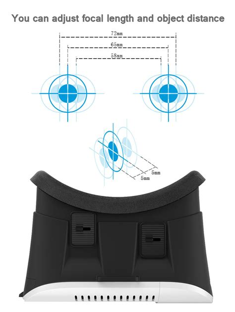 Google Cardboard Vr Box Virtual Reality 3d Glasses For Iphone 6s Plus Samsung Ebay Vr Template