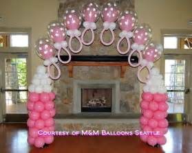 adorable baby shower balloon decorating