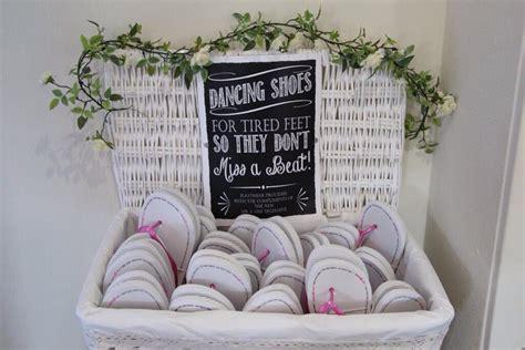 wedding box of flip flops cheap wedding flip flops for heels