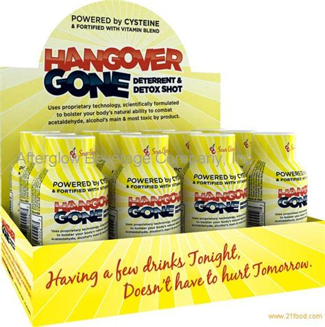 Hangover Detox Foods by Hangover Deterrent Detox Products United States