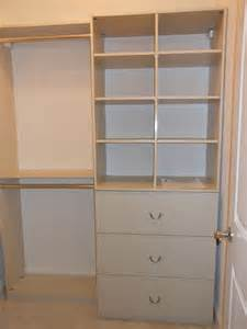 Small Closet Cabinet Custom Closet Installations Large And Small
