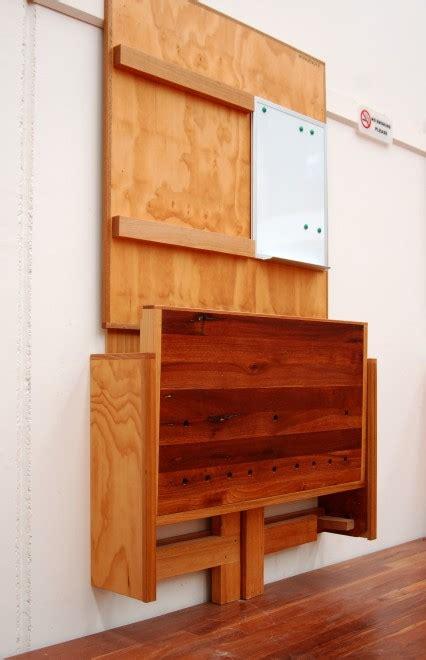 wall mounted folding workbench plans diy  plans