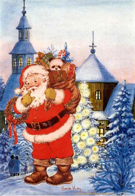 imagenes navideñas santa sarah kay navidad