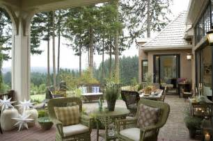 French country elegance traditional patio portland