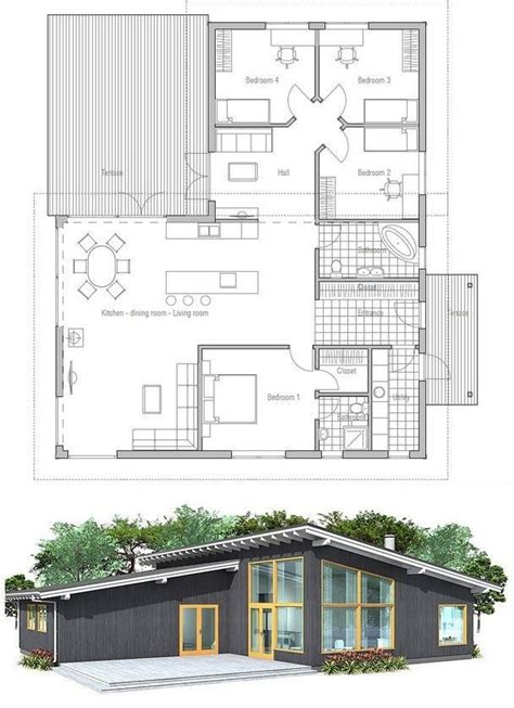 25 Best Ideas About Modern House Plans On Pinterest | simple modern house plans photos inspirational best 25