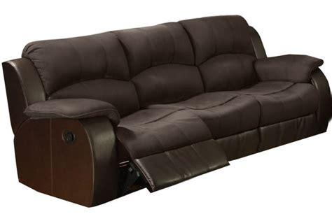 microfiber reclining sofa and loveseat lorenzo microfiber reclining sofa