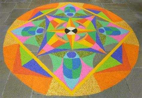rangoli pattern using shapes rangoli design competitions rangoli design ideas