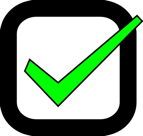 What Is Checked In A Background Check Nxt Checkbox Checked Clip At Clker Vector Clip Royalty Free
