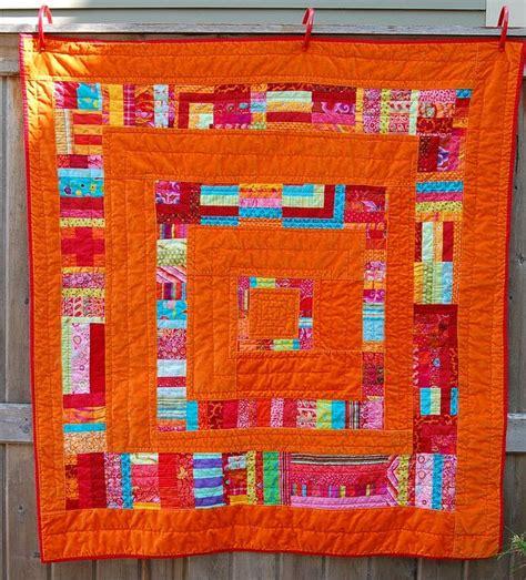 Scrappy Patchwork Quilts - 166 best blue orange images on blue
