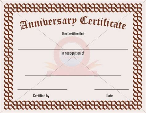 employee anniversary certificate template 20 best images about adoption certificate templates on