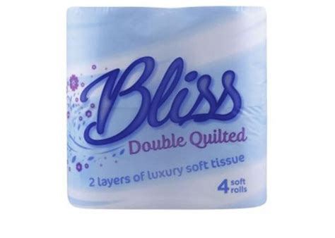 luxury bliss double quilted toilet rolls clh group