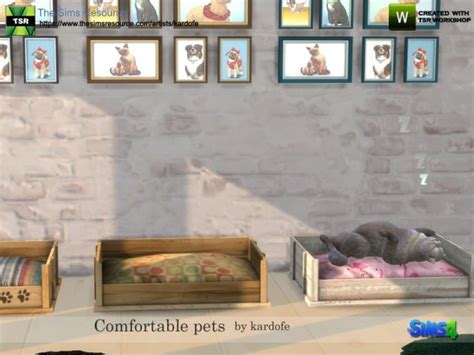 comfortable download the sims resource comfortable pets by kardofe sims 4