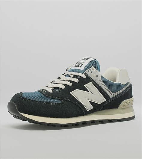 New Balance 574 Grey Blue best price new balance 574 suede mesh womens shoes navy