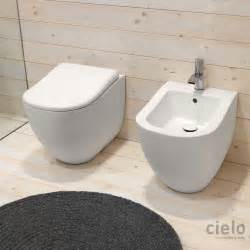 colored designer bidet wc for bathroom ceramica cielo