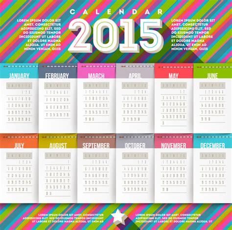 desain kalender 2015 free 5 vector design kalender 2015 keren