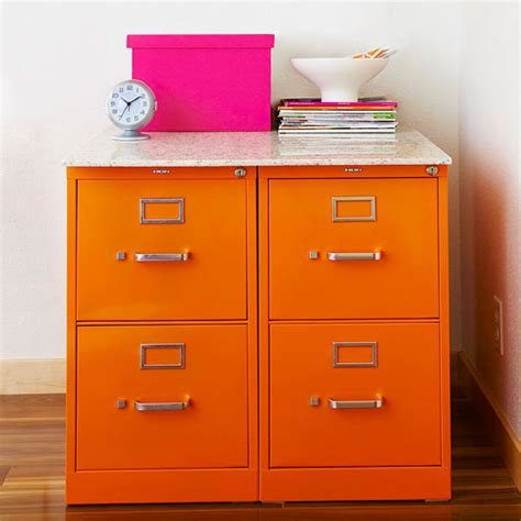 how to dress up a metal file cabinet use spray paint to tansform file cabinets marble slab