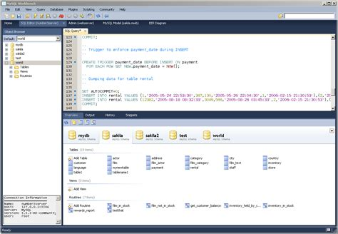 my sql work bench java web development what is mysql workbench find an