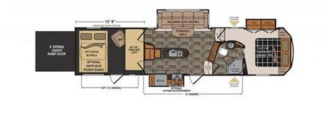 voltage rv floor plans 2016 dutchmen voltage 3305