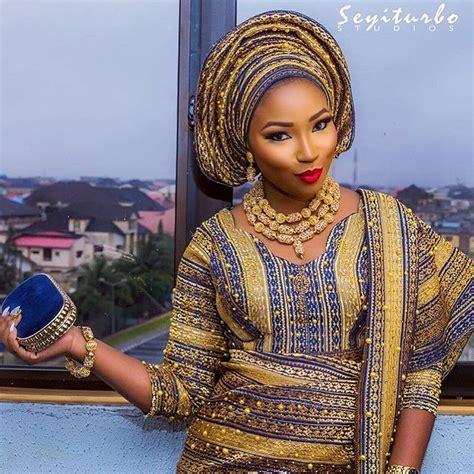 african make and asooke hair styles latest bridal aso oke