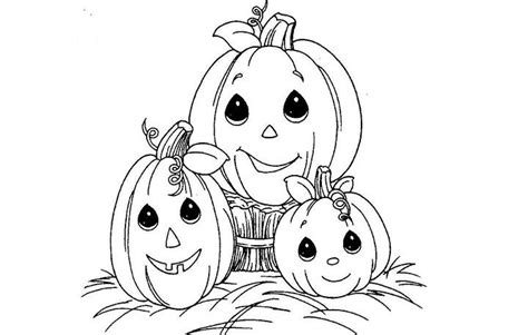 coloring pages of cute pumpkins top 10 free printable halloween pumpkin coloring pages